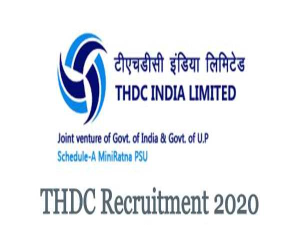 THDC Recruitment 2020 For Executive Trainee (Finance) Posts, Apply Online Before December 21