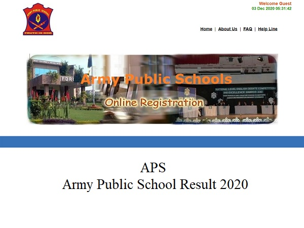 Army Public School Result 2020: Check APS CSB Result 2020 For PRT, PGT And TGT