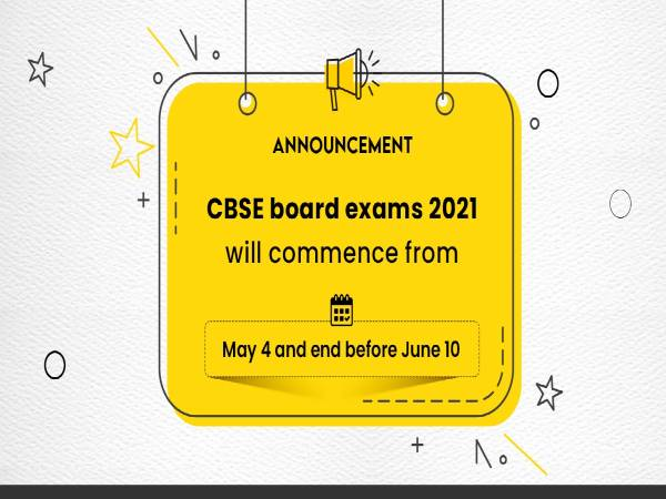 Education Minister Releases CBSE Exam Dates 2021