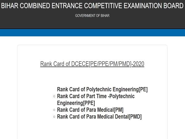 Bihar Polytechnic Result 2020 Released