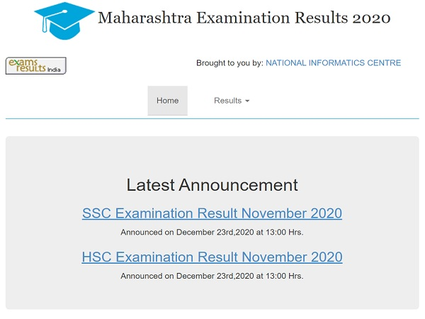 Maharashtra Supplementary Result 2020 Declared