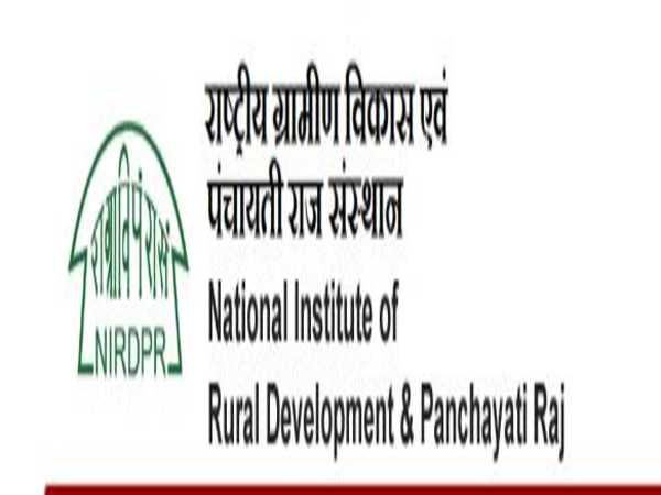 NIRDPR Recruitment 2020: 510 Vacancies