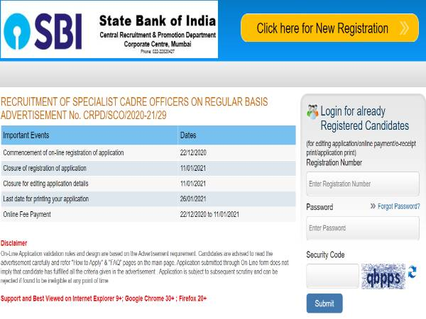 SBI SO Notification 2021: 138 DGM, AM, Manager