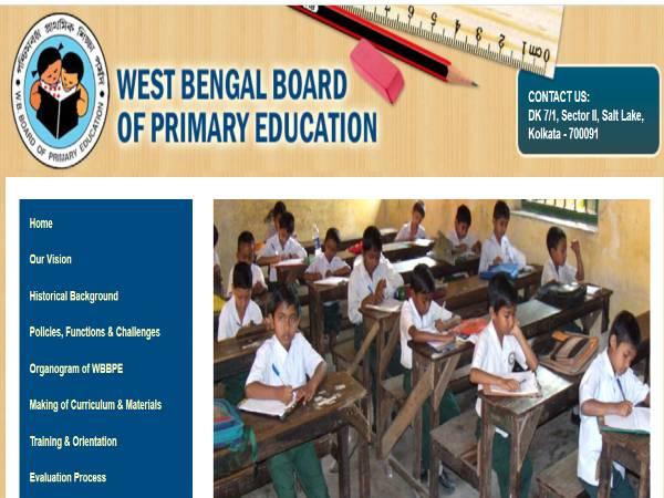 WBBPE West Bengal Recruitment 2020: 16,500 PRT