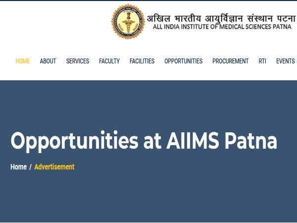 AIIMS Patna Recruitment 2021 For 40 Junior Residents (Non-Academic), Apply Online Before January 30
