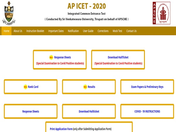 AP ICET Counselling Dates 2021 Released