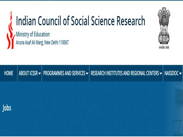 ICSSR Recruitment 2021 For UDC, Section Officer, DO And Deputy Director Posts. Apply Offline Before February 8