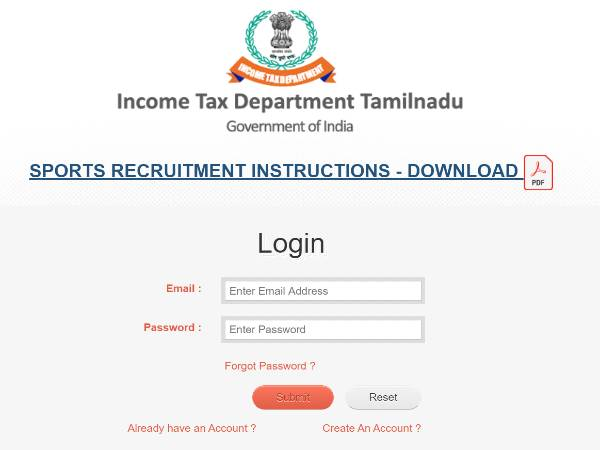 Income Tax Department Recruitment 2021: 38 Posts