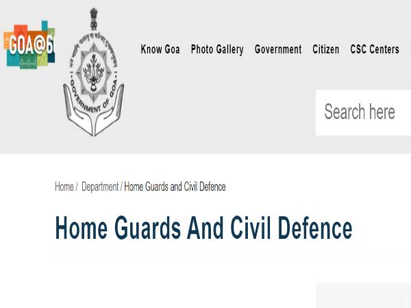 Goa Home Guard Recruitment 2021: 296 HGVolunteers
