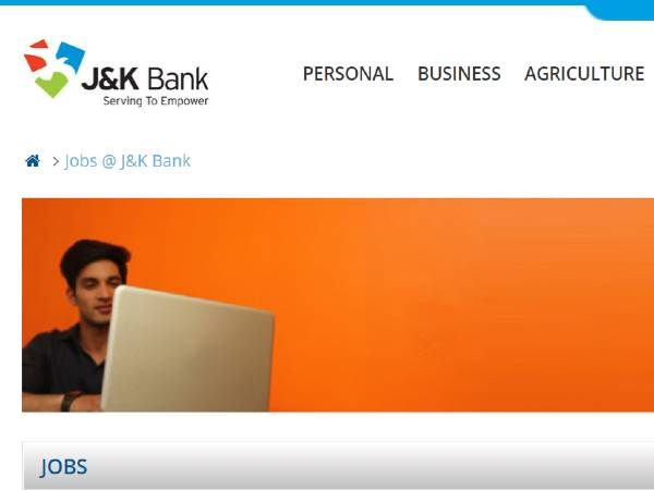JK Bank Recruitment 2021 For Security Officer Posts, Apply Online Before March 10 On JKBank.Com
