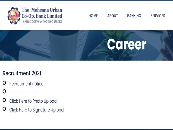 MUC Bank Recruitment 2021 For Assistant General Manager, Chief Manager, Senior Manager And Manager Posts
