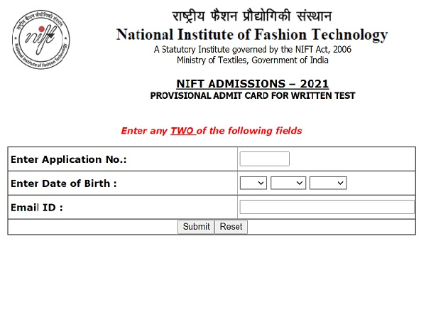 NIFT Admit Card 2021 Released