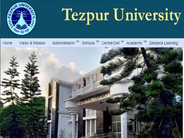Tezpur University Recruitment 2021: 91 Professors
