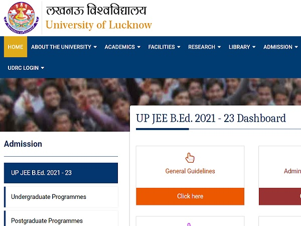 UP BEd JEE 2021 Notification Released