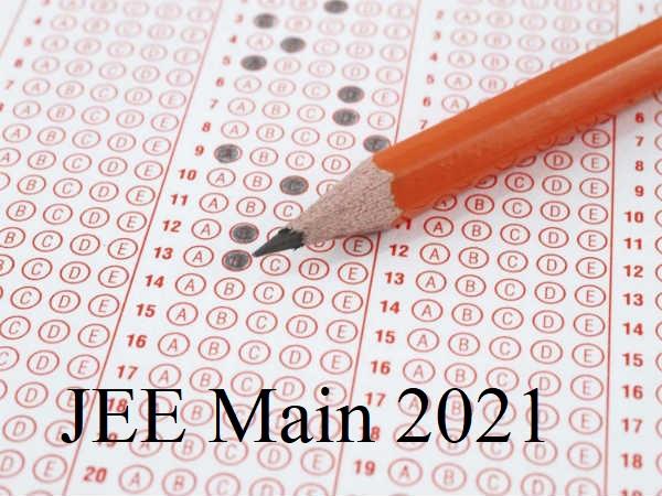 JEE Main Response Sheet 2021