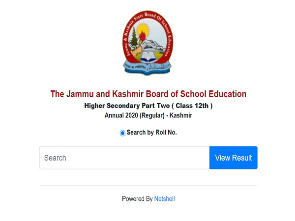 JKBOSE 12th Result 2020 Kashmir Division Declared At jkbose.ac.in