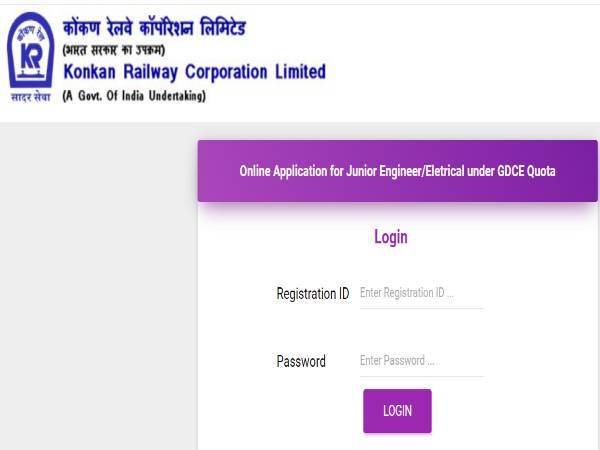Konkan Railway Recruitment 2021: Jr. Tech Assts.