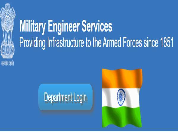 MES Recruitment 2021 For 502 Supervisor And Draughtsman Posts In Military Engineer Services. Check Details