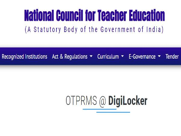 Education Minister Announces Linking Of OTPRMS With DigiLocker, Waives Off Certificate Registration Fee