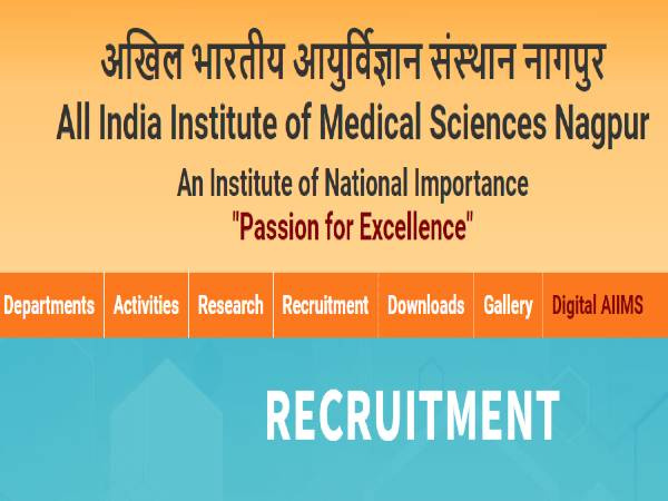 AIIMS Nagpur Recruitment 2021 For 20 Senior Residents Posts Through Walk-In Selection On April 26