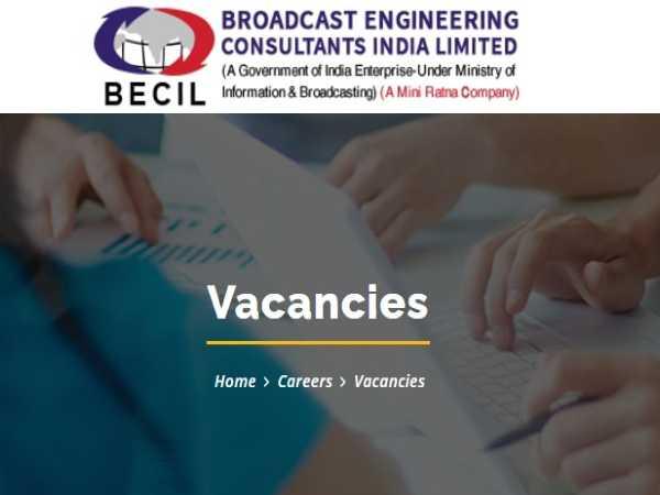 BECIL Recruitment 2021:1679 Vacancies