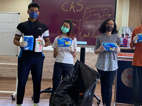 Students Creates Awareness On Menstrual Hygiene