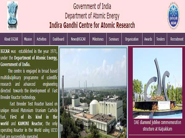 IGCAR Recruitment 2021 For 337 Technical Officer, UDC And Other Posts, Apply Online Before May 14