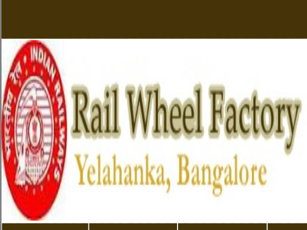 Rail Wheel Factory Recruitment 2021: CMP