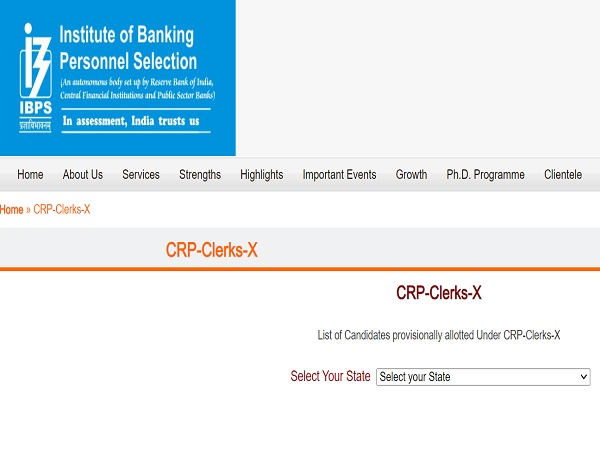 IBPS Clerk Final Result 2021 Released, Check Step-wise Provisional Allotment List