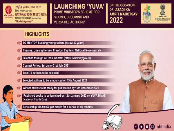 Govt Launches YUVA Scheme To Mentor Young Authors
