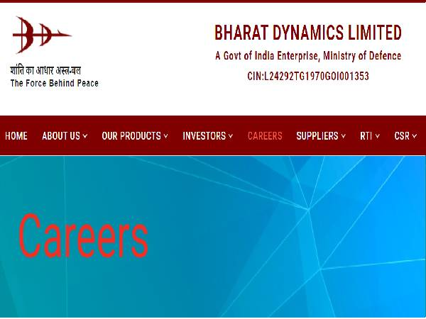 BDL Recruitment 2021 For 46 Executive And Management Trainee Posts, Online Registration Starts On July 4
