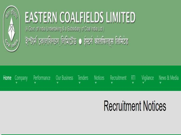 ECL Recruitment 2021 For 1,086 Security Guard (Male) Posts, E-mail Applications Before June 15