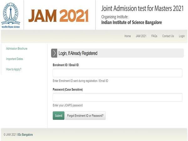 IISc Releases IIT JAM 2021 Admission List