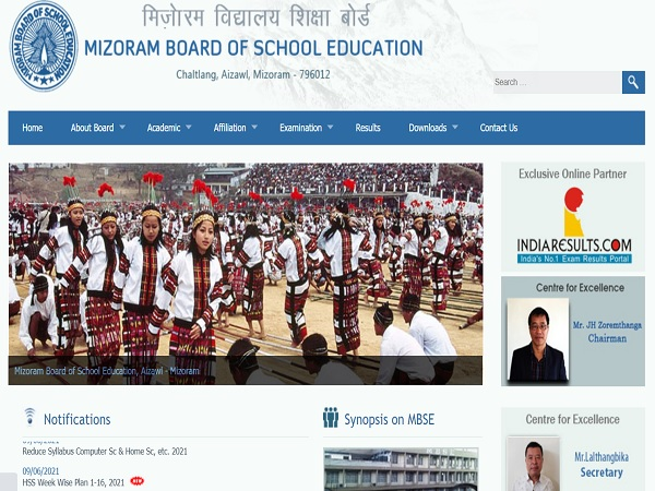 MBSE HSSLC Result 2021 Declared, Overall Pass Percentage Is 87.80%