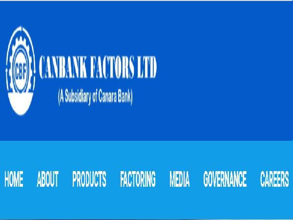 Canara Bank Recruitment 2021 For Junior Officers Posts In Canbank Factors Ltd., Apply Offline Before July 31