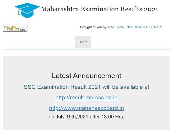 Maharashtra SSC Result 2021 Declared, Check Result Links