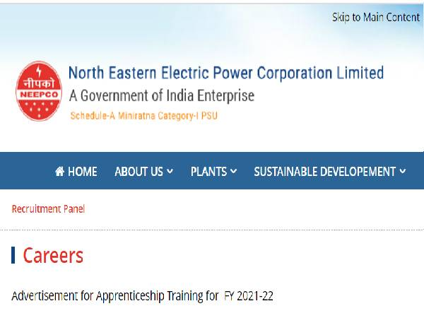 NEEPCO Recruitment 2021 For 94 Graduate And Diploma Apprentice Posts, Apply Online On NATS Before August 20