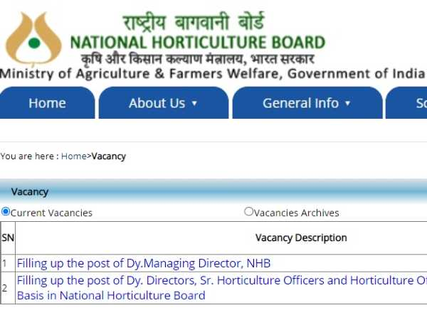 NHB Recruitment 2021 For Various Posts