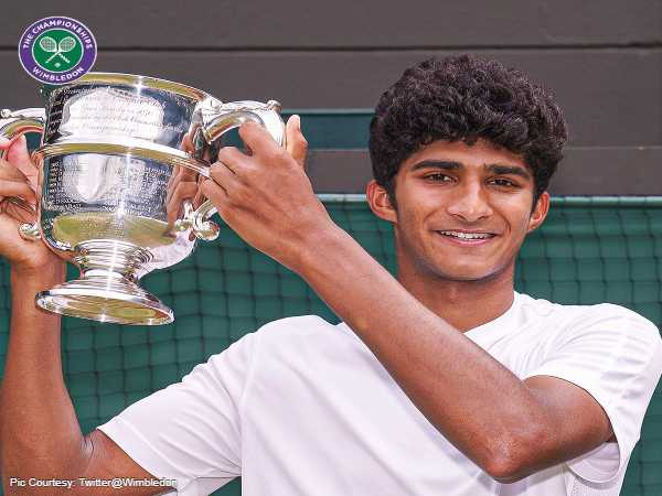 Who Is Samir Banerjee, The Indian-American Champ Who Bagged Wimbledon Boys' Singles Title
