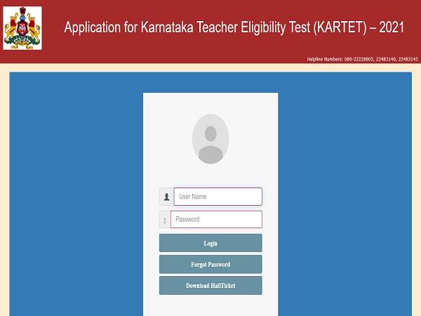 Karnataka TET Hall Ticket 2021 Released