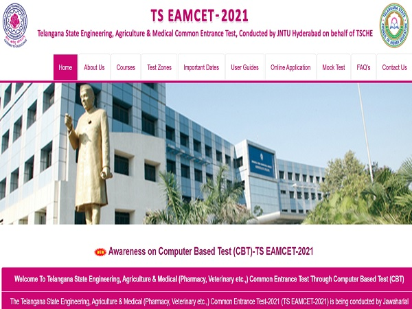 TS EAMCET Results 2021 Live Updates