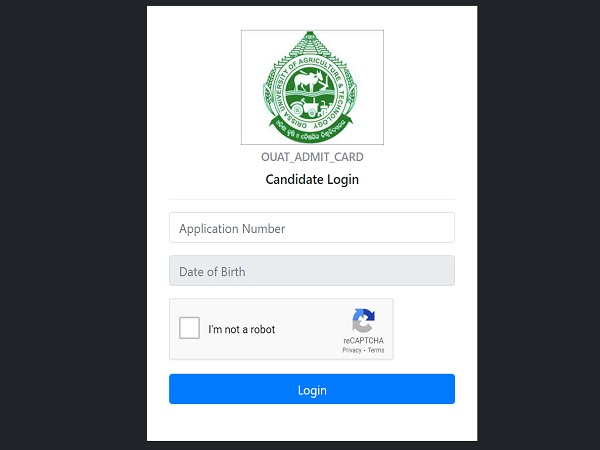 OUAT Admit Card 2021 Released For UG Entrance Examination