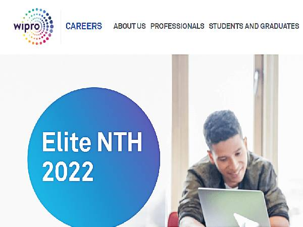 WIPRO Rolls Out Elite National Talent Hunt (NTH) Program To Hire Freshers, Registration Closes On September 15