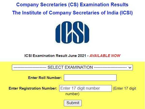 ICSI CS Result 2021 Declared For Foundation, Executive, Professional Courses At icsi.edu