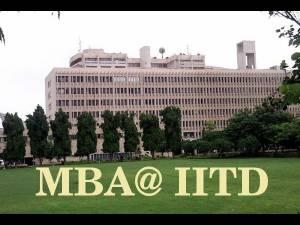 New MBA syllabus for IIT Delhi