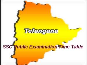 Telangana SSC Public Examinations Time-Table