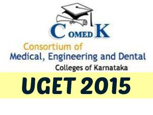 COMEDK UGET, 2015 Exam Pattern