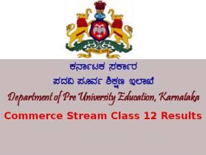 Karnataka 2nd PUC Commerce Stream Results Declared