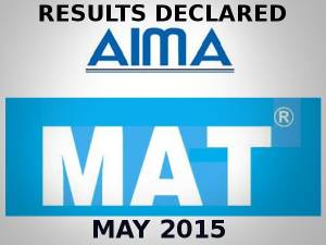 MAT Results May - 2015 Declared!