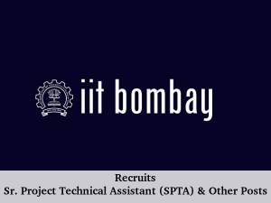 IIT Bombay Recruits 29 SPTA and Other Posts